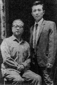 Gran Maestro Liu Yuen Chiao, junto a él, el joven Su Yu-Chang